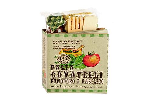 Geschenkbuch **Cavatelli Pomodoro Basilico**