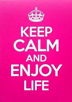 **Keep Calm pink**