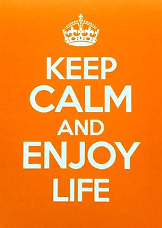 **Keep Calm orange**