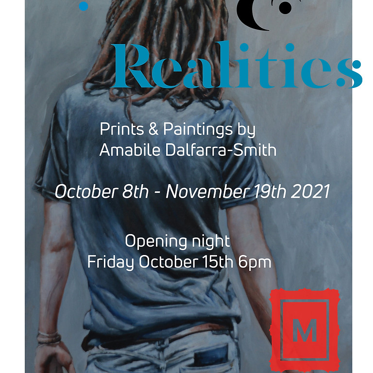 """Opening reception, """"Myths & Realities"""" exhibition by Amabile Dalfarra Smith"""