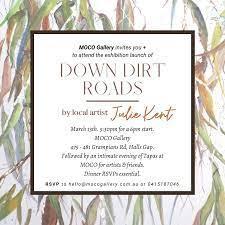 Julie Kent exhibition poster