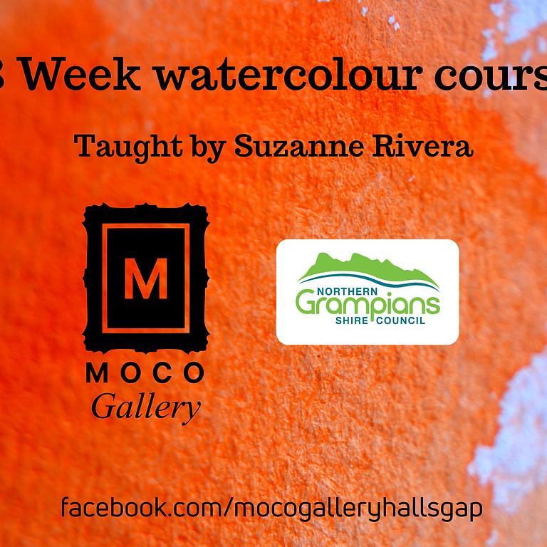 Artist watercolour course