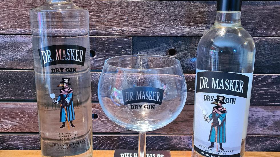 Pack Milenio 2 Gin Dr. Masker 750cc mas copa