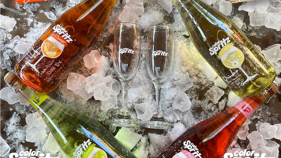 OFERTA Pack 4 Color Spritz + 2 Copas