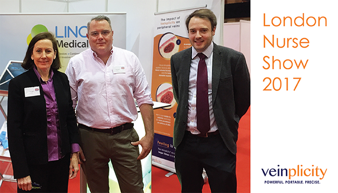 Veinplicity at the London Nurse Show 2017