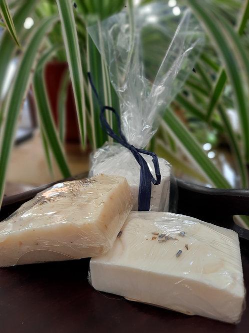 Handcrafted Lavender Bath Set
