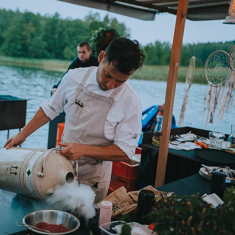 Kaspars Jansons VAKARS UZ EZERA|DINNER ON THE LAKE 155 EUR