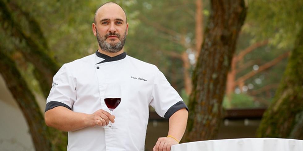 Lauris Aleksejevs - VAKARS UZ EZERA   DINNER ON THE LAKE