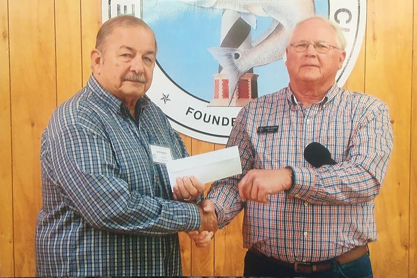 HI C.E.R.T. accepts Donation from CHAC