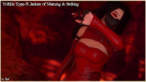 YoRHa Type-51 Jackets of Maiming and Striking (Bibo+)