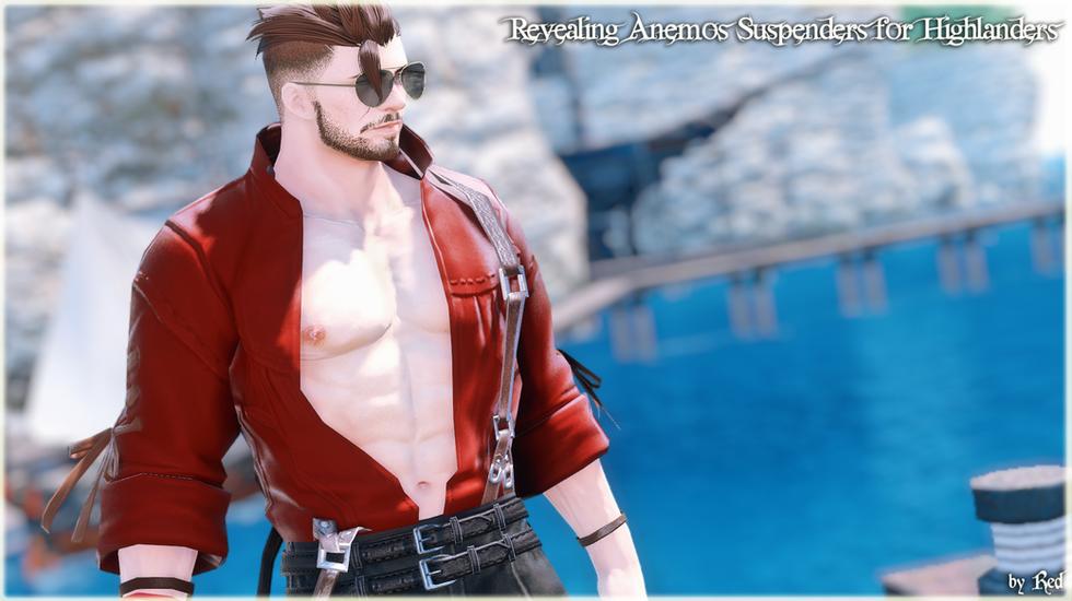 Revealing Anemos Suspenders for Highlanders (TB2.0)