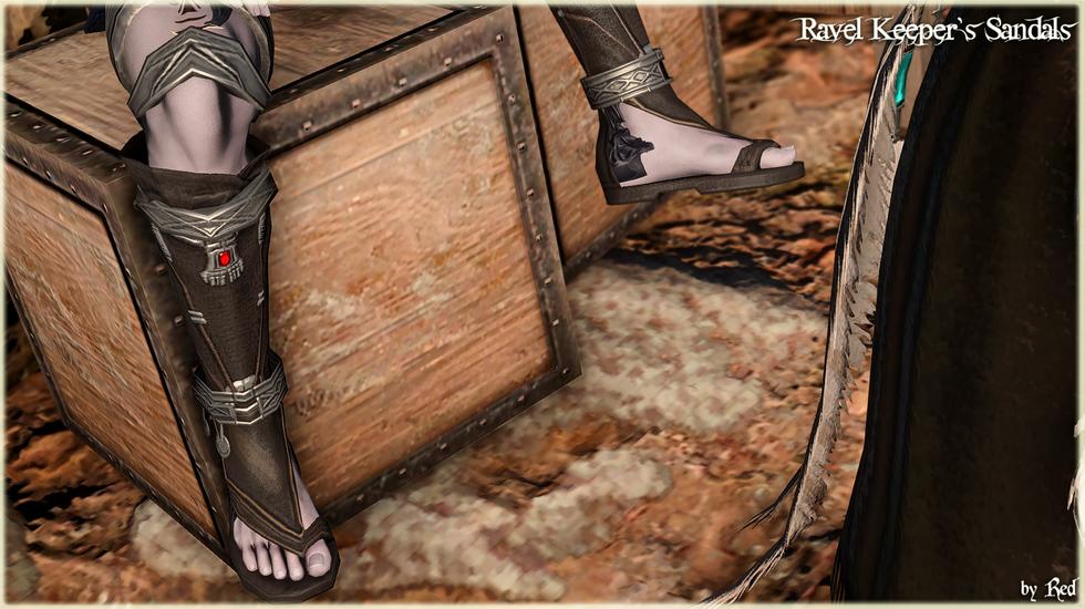 Ravel Keeper's Sandals (TB2.0)