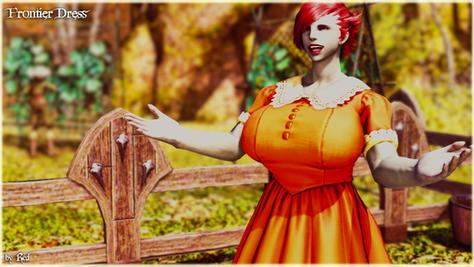 Frontier Dress (Milf)