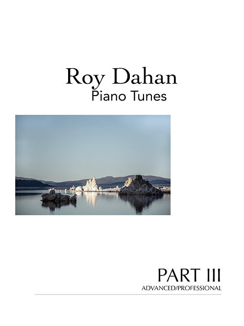 Roy Dahan - Piano Tunes - Book III