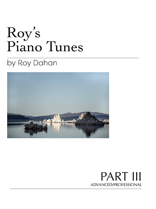 Roy's Piano Tunes - Book III