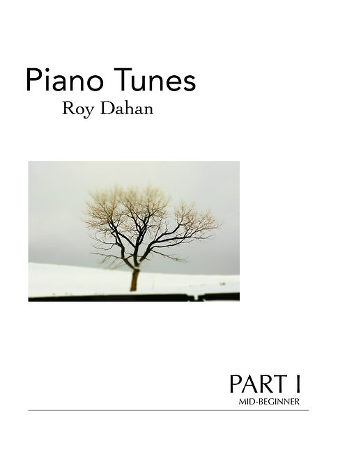 Roy Dahan - Piano Tunes - Book I