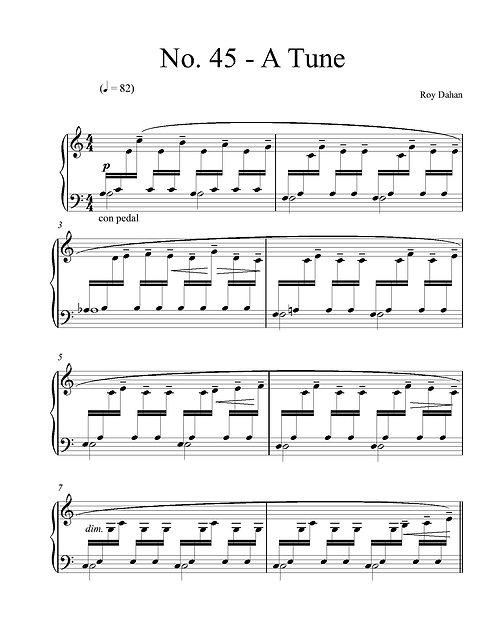 No. 45 - A Tune