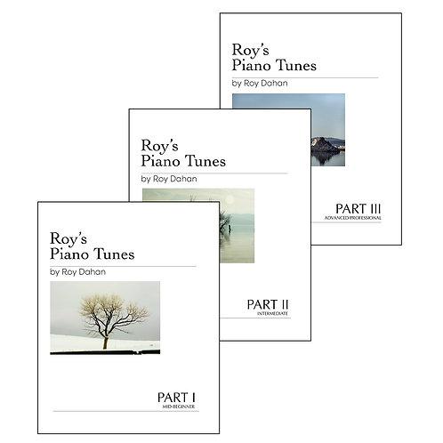 Roy's Piano Tunes - Bundle - Books I, II, III