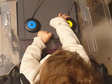 מערכת מתגים לילדים ומבוגרים עם מוגבלויות מוטוריות  -  Logitech G