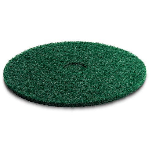 ケルヒャー 送料無料 パッド,ミディアムハード,緑,356 mm 63690020