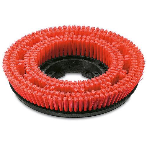 ケルヒャー 送料無料 ディスクブラシ, ミディアム, 赤, 385 mm 49050180