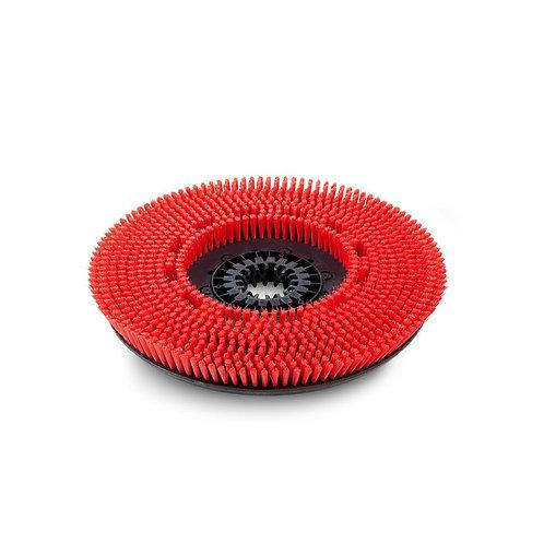 ケルヒャー 送料無料 ディスクブラシ, ミディアム, 赤, 430 mm 49050220