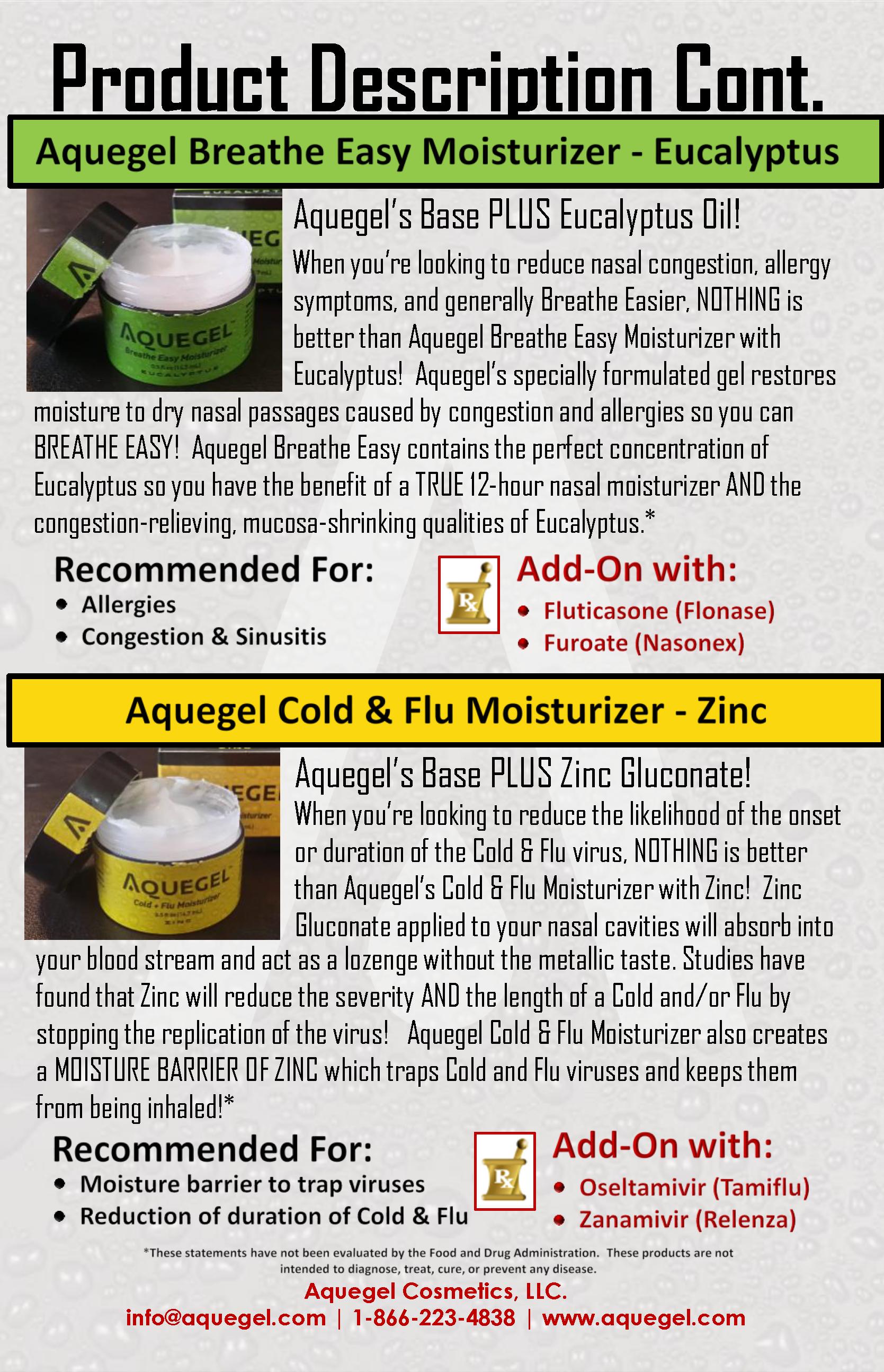 Aquegel Eucalyptus & Zinc