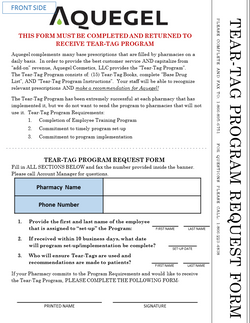 Tear-Tag Request Form - 8