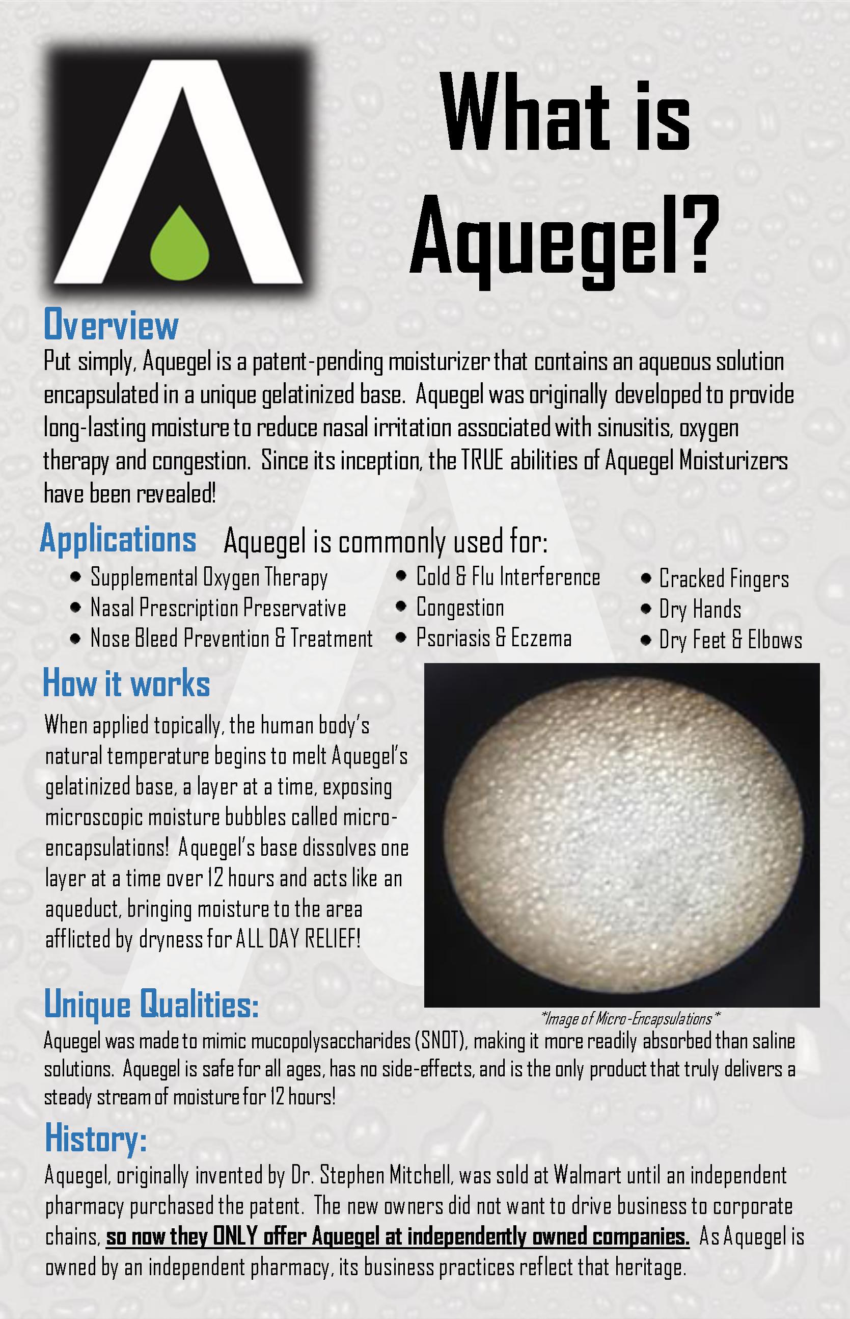 What is Aquegel?
