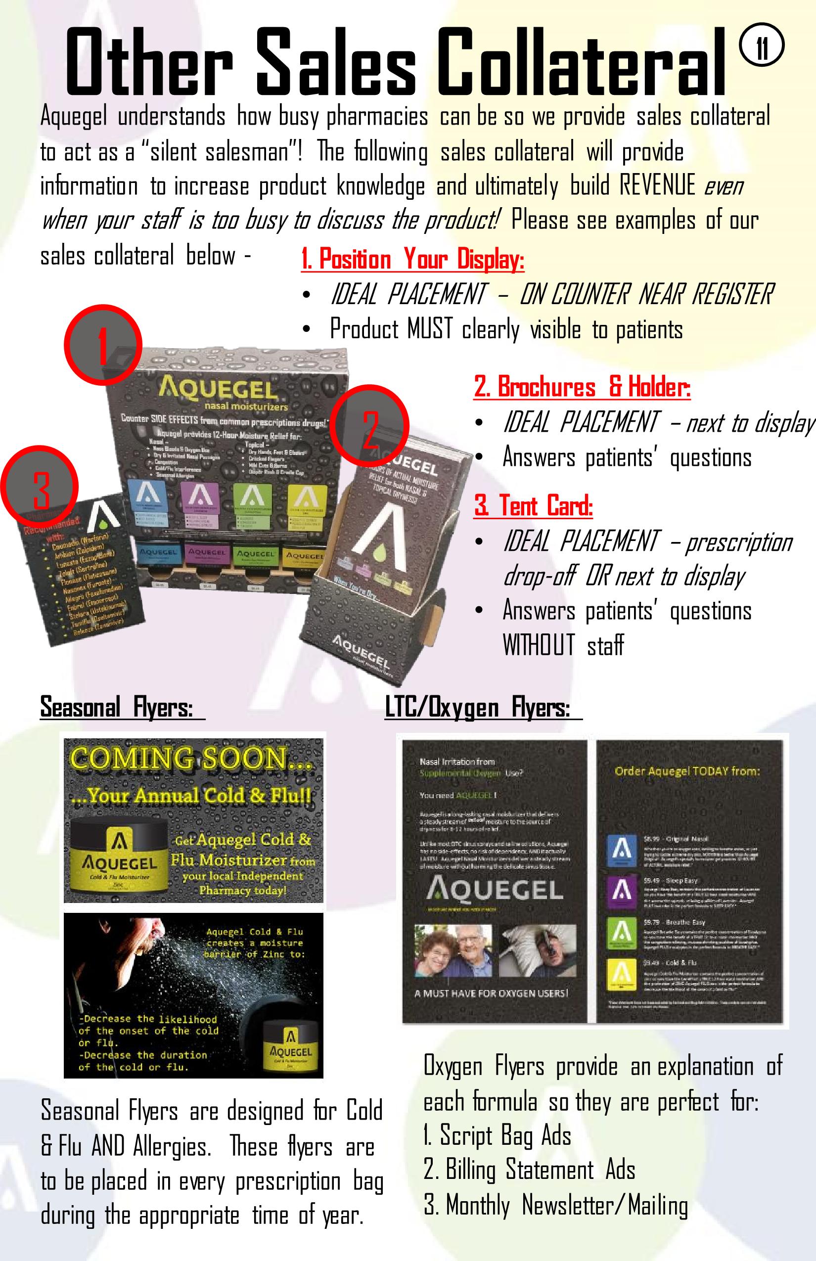 Aquegel Sales Callteral - 11