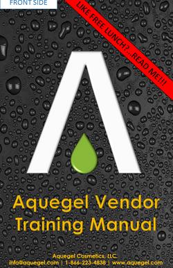 Aquegel Vendor Training Manual - 7