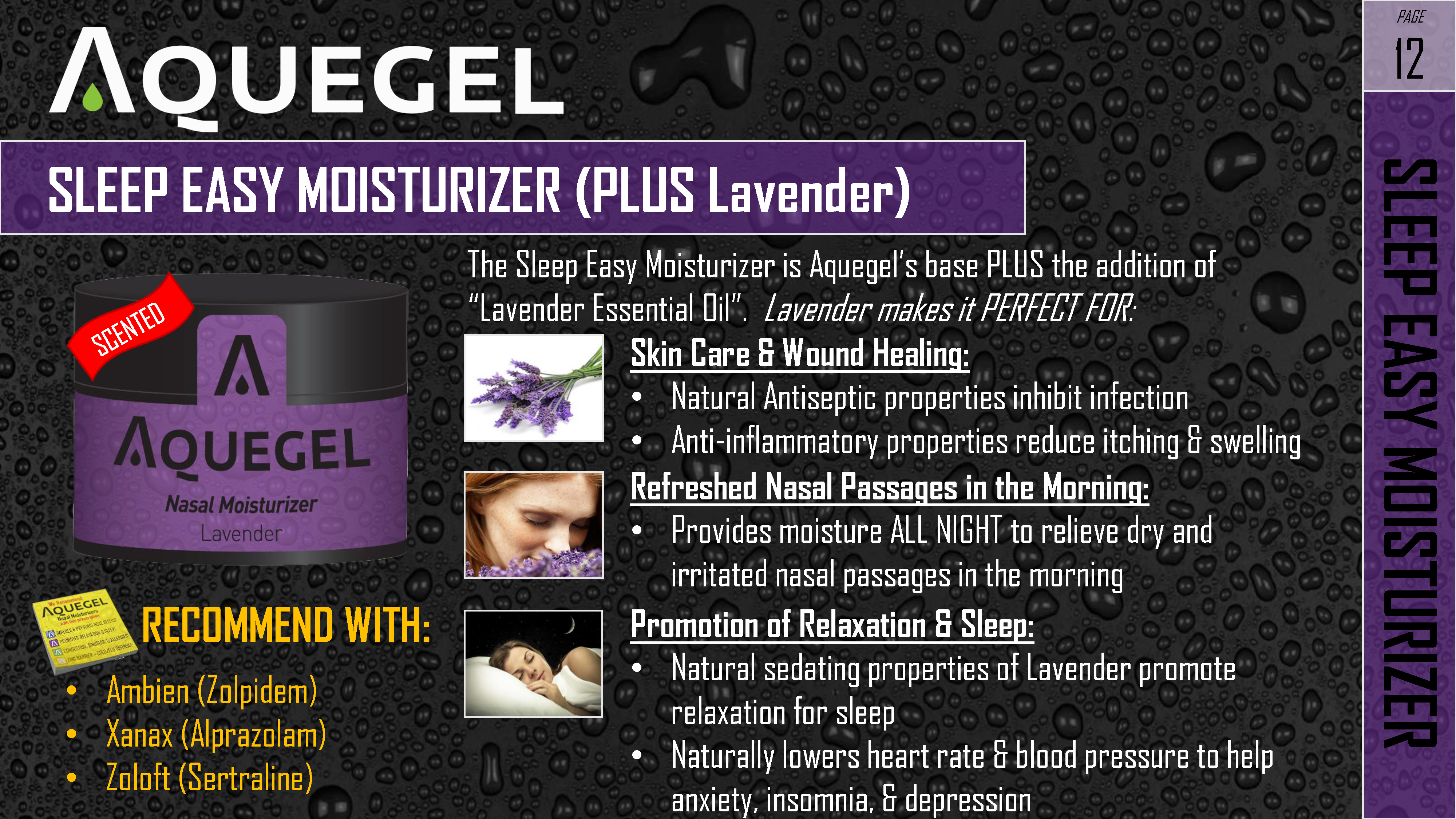 SLEEP EASY MOISTURIZER - 12