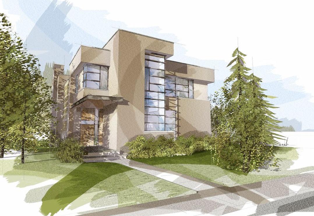modern home design collingwood