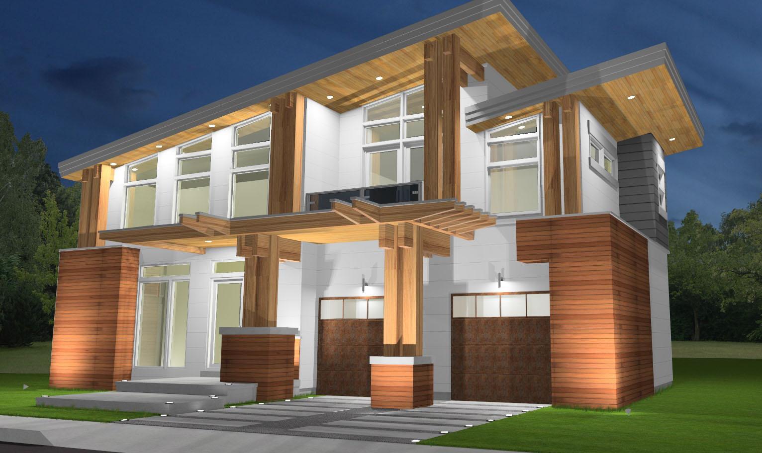 modern home design oakville