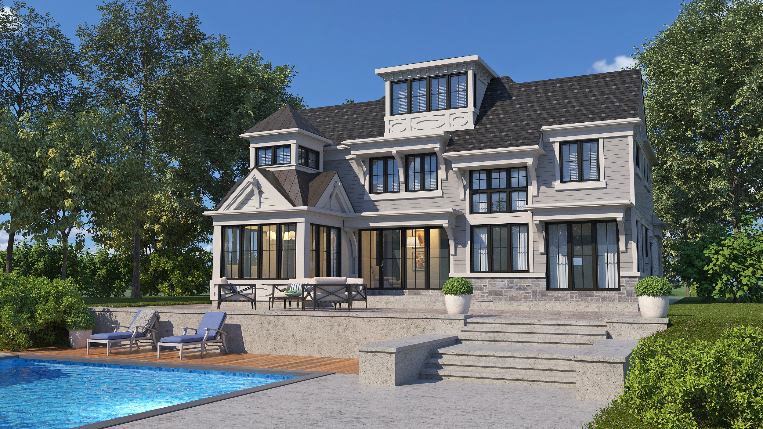 custom cottage design