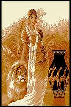 lady w lion.JPG