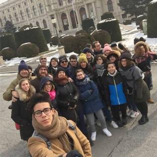 Alcune foto del viaggio d'istruzione a Vienna