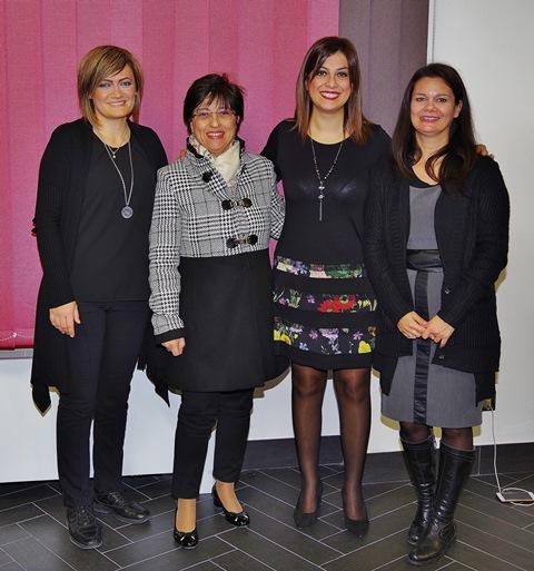La prof.ssa Di Pietra con l'Ensemble Reverie