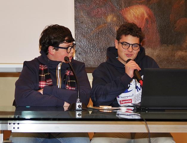 Federico Nicosia e Michele Cammarata
