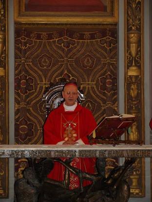 Il saluto di S.E. Mons. Mario Russotto
