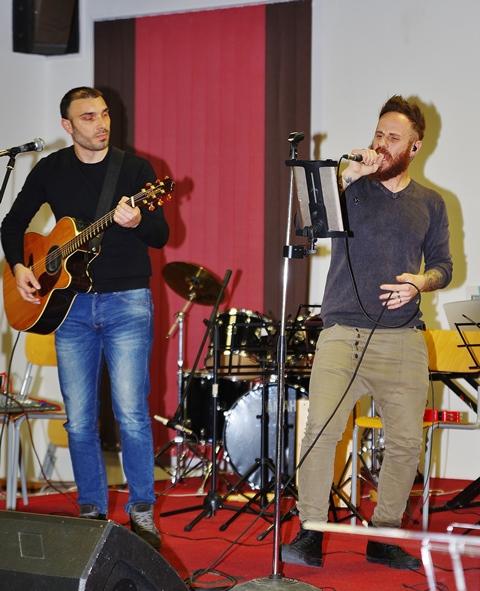 Miky Giordano e Fabrizio Amico