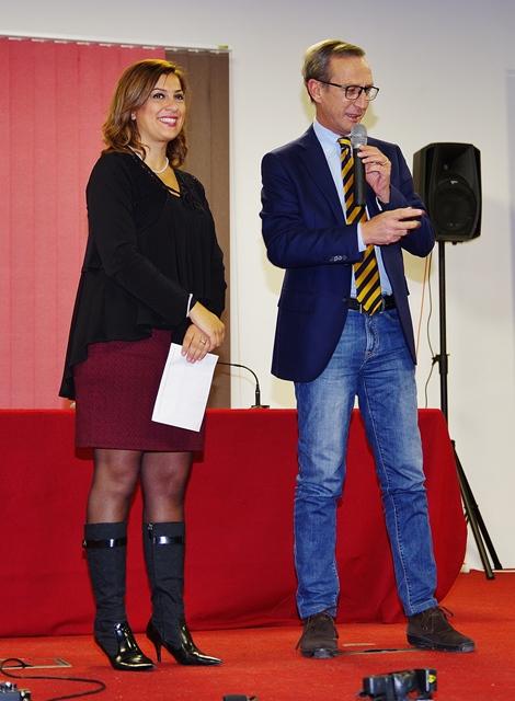 Il saluto del presidente del Liond Club, dott. Michele Vitale