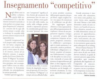 """Insegnamento """"competitivo"""""""