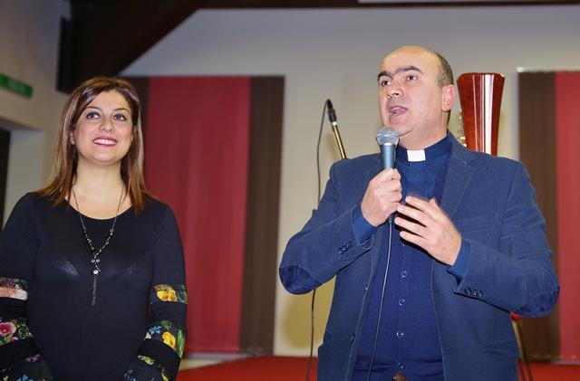 Il saluto del gestore don Pino La Placa