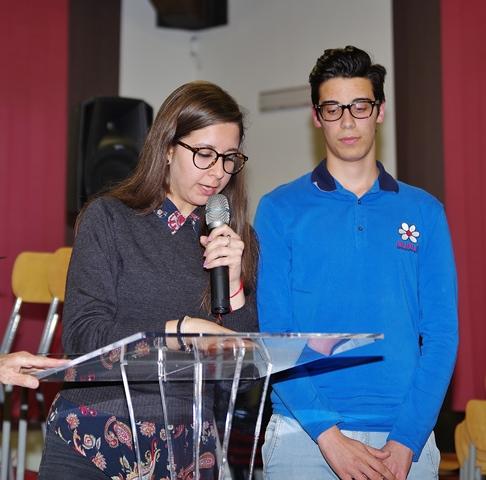 Chiara Nicosia e Luca Losardo