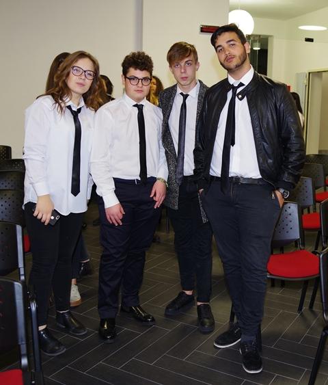 Alcuni alunni del Mignosi