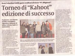 Torneo di Kahoot: edizione di successo