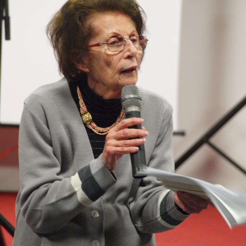 L'intervento della preside Antonietta Viroli
