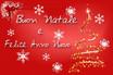 Messaggio di buone festività natalizie