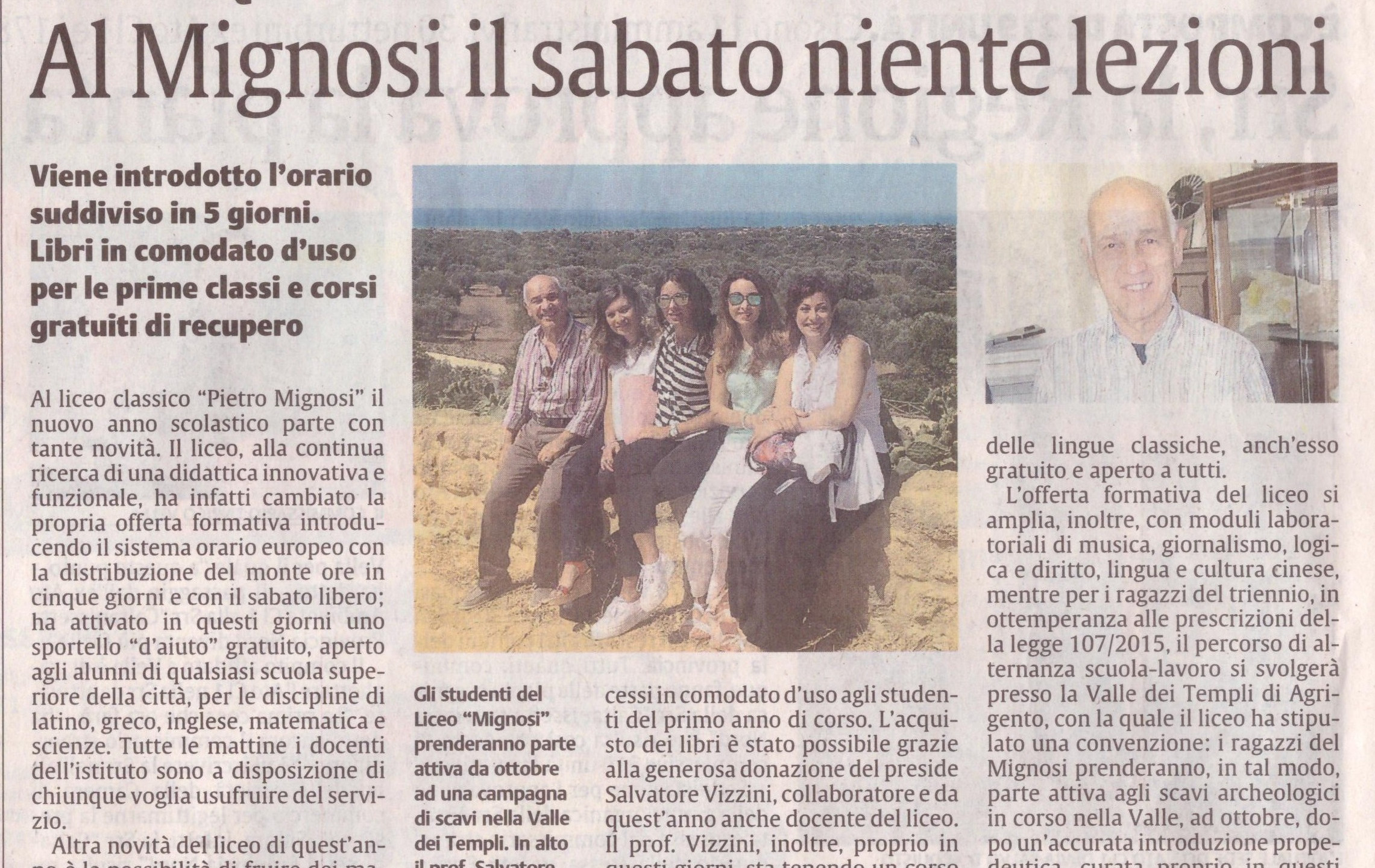 La Sicilia del 07/09/2016
